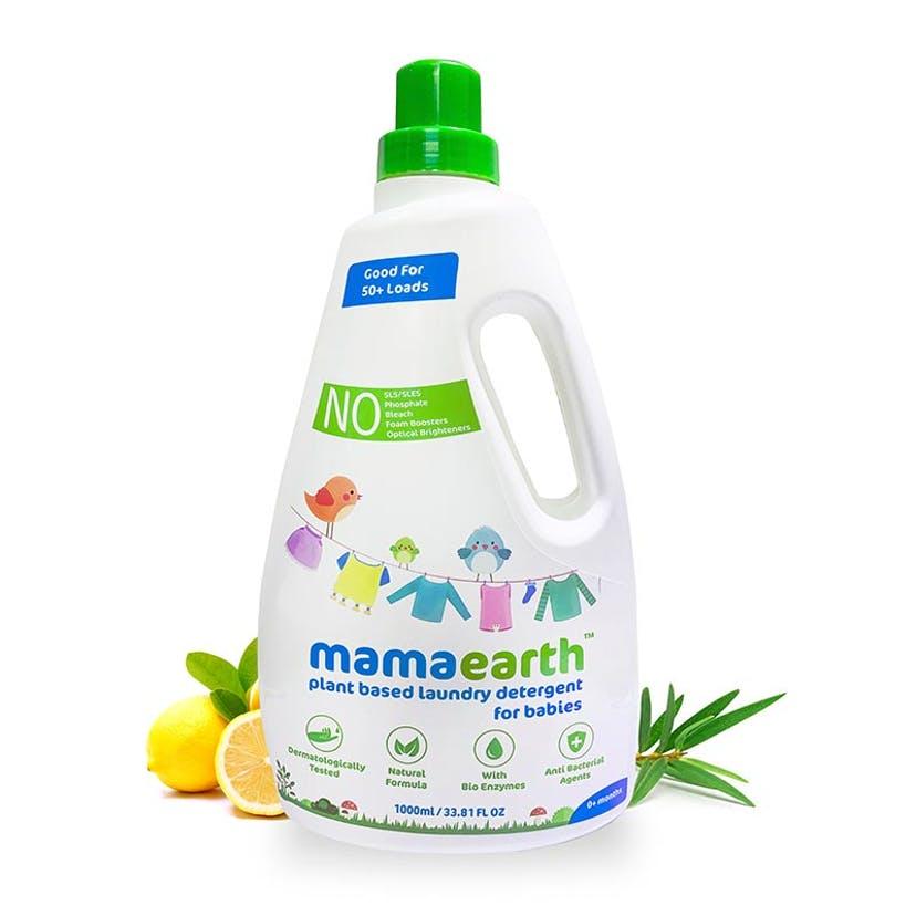 Plant based laundry detergent