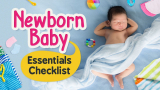 Things to Buy for Babies || Newborn's Checklist || Must-Have Essentials